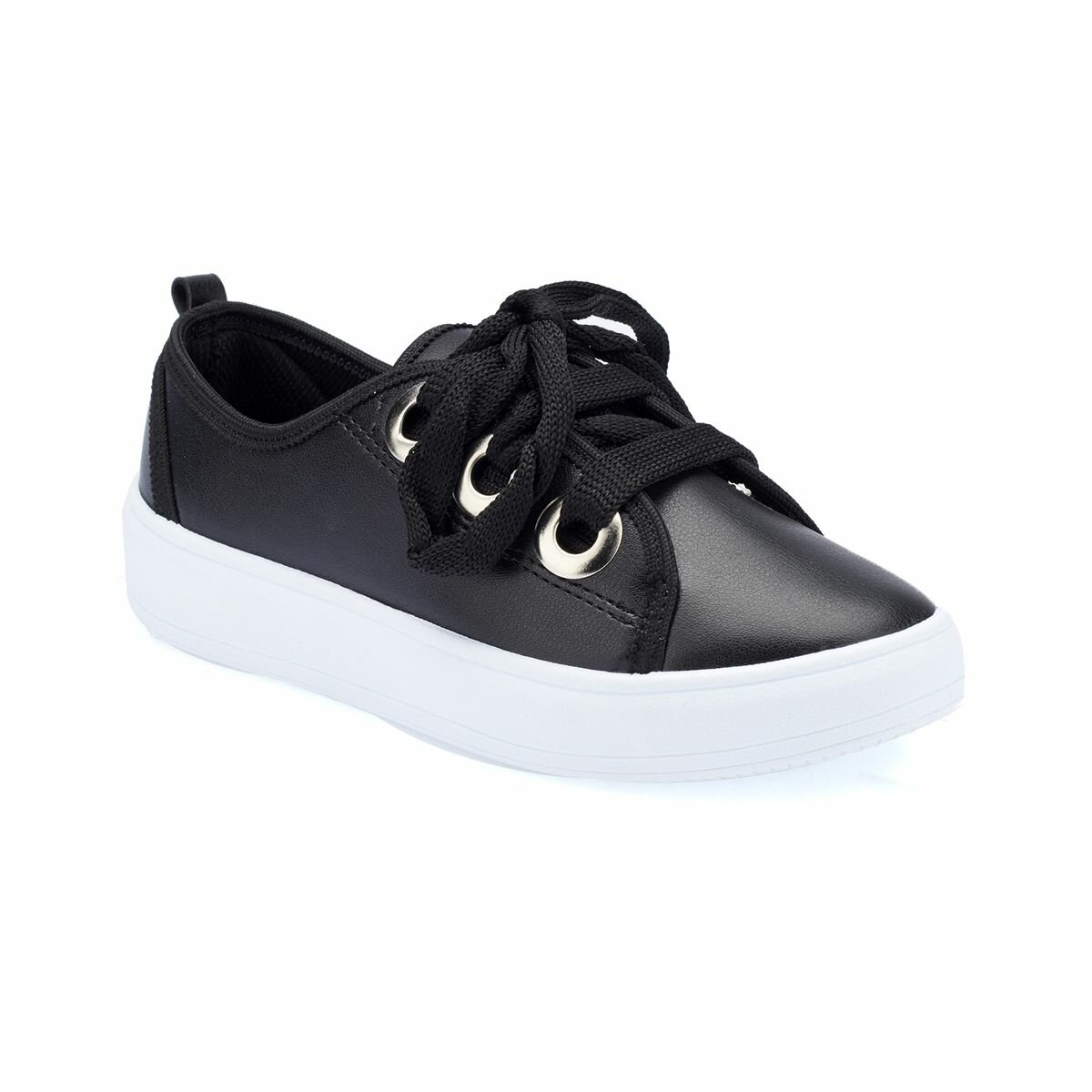FLO 82. 510826.F Black Female Child Sneaker Shoes Polaris