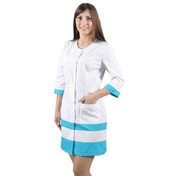 цена Female medical robe ivuniforma Olesya онлайн в 2017 году