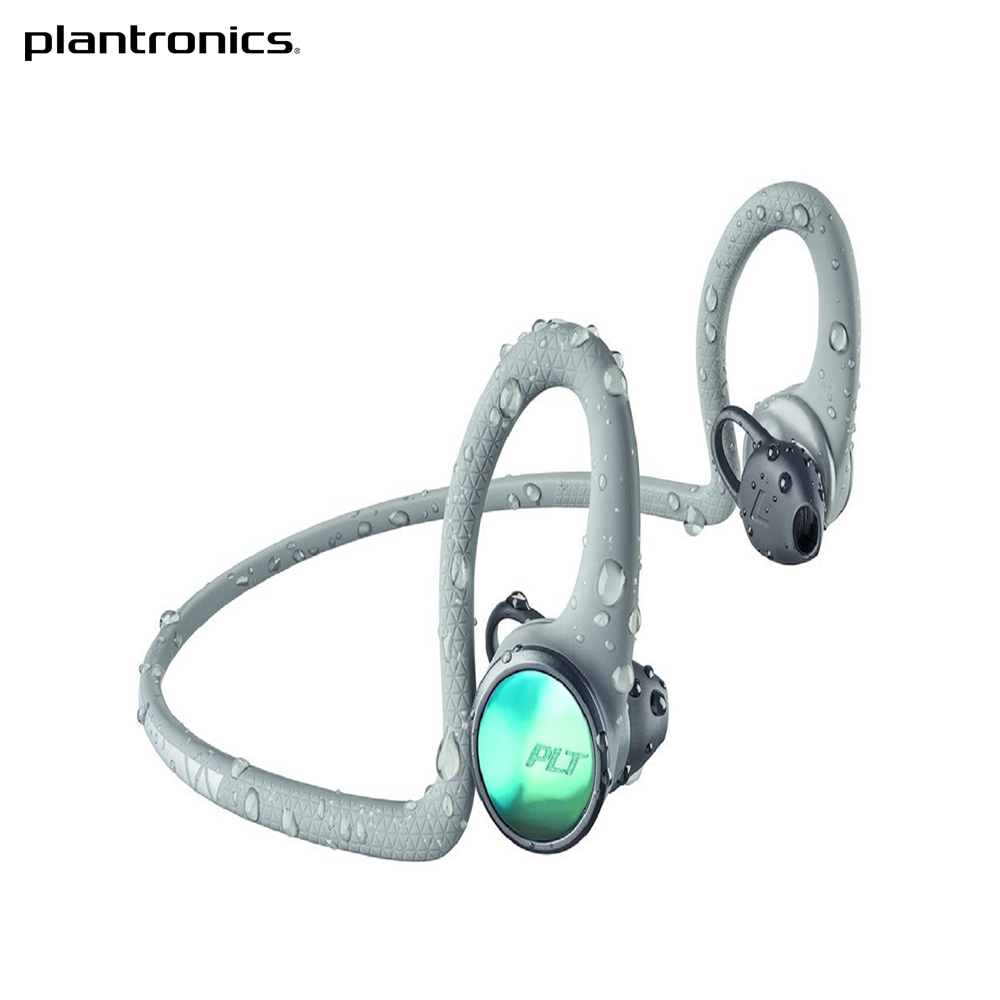 Stereo Bluetooth headset Plantronics BackBeat FIT 2100, Gray цена