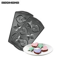 Панель для мультипекаря REDMOND RAMB-24(Сердечки и звёздочки