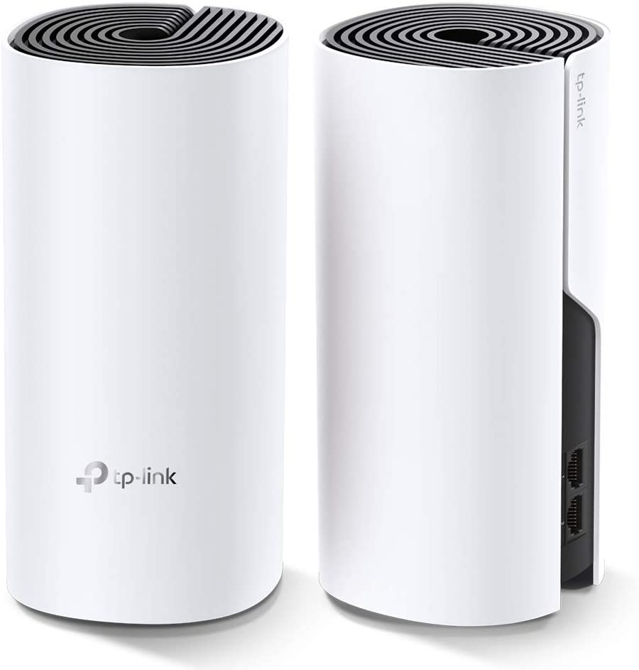 TP Link Design Deco E4 Dual Band Wi-Fi Mesh System AC1200 Pack 2