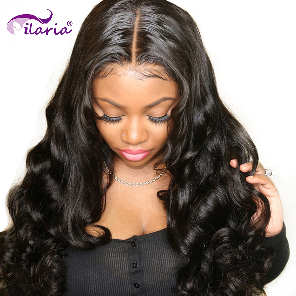 ILARIA Lace Front Human Hair Wigs Body Wave Pre Plucked With Baby Hair Brazilian Remy Hair Full Lace Wig For Women 360 Wig