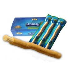 Set Of 12 Fresh Natural Toothbrush Misvak Miswak Arak, Siwak, Miswaak مسواك طيبة