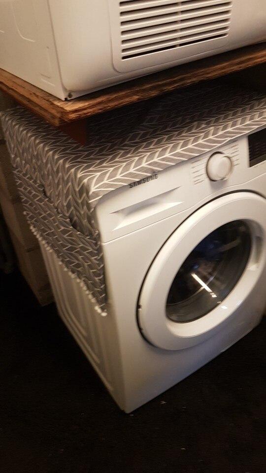 Capa p/ máquina de lavar roupa contra Poeira Desenhos