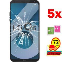5x Protectors Screen szkło hartowane dla LG Q6 (nie pełne patrz informacje)
