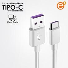 1M 1,5 M 2M 3M Usb кабель с 5A кабель для зарядки Usb Type-C кабель совместим с зарядными устройствами для xiaomi Huawei Samsung One plus мобильные данные