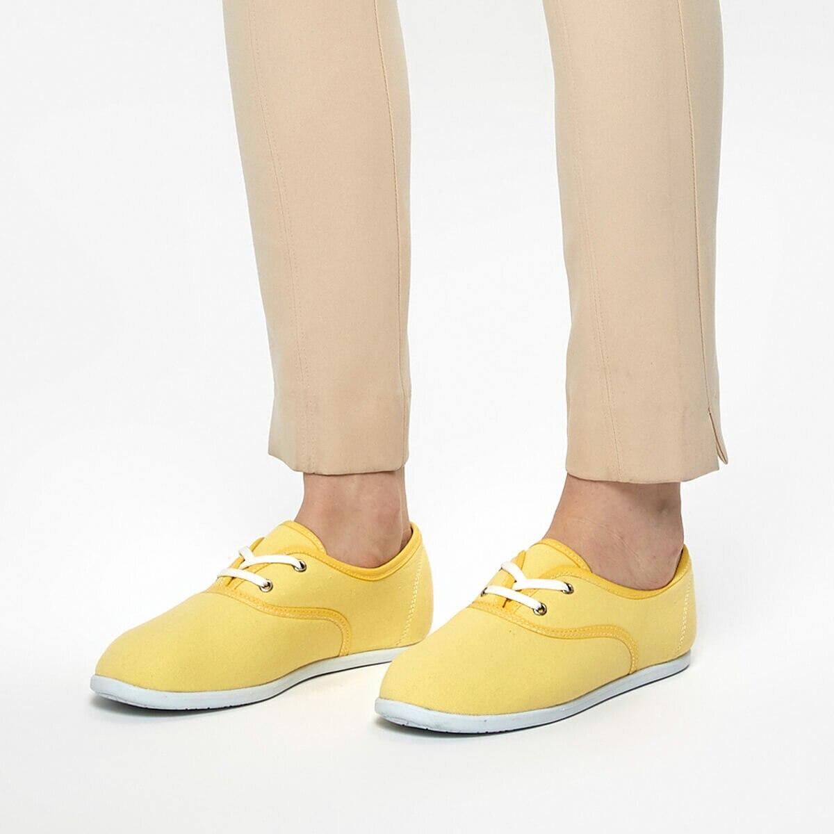 FLO CS19003 Yellow Women 'S Sneaker Shoes Art Bella