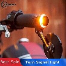 Vehemo сигнальный светильник 12 в световой индикатор поворота светильник для мотоцикла светодиодный долговечная Лампа мотоцикл luces para Refit Универсальный