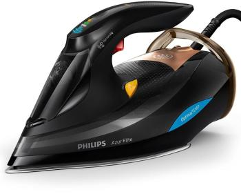 Brand New in ORIGINAL BOX Philips GC5033/80 Azur Elite Steam Iron With OptimalTEMP Technology Original  Brand New утюг philips gc5033 80 azur elite черный бежевый