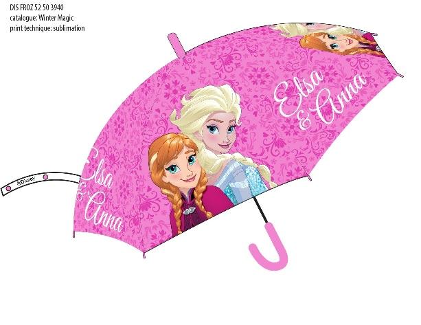 Paragua Automatic Frozen Disney 48 Cm.