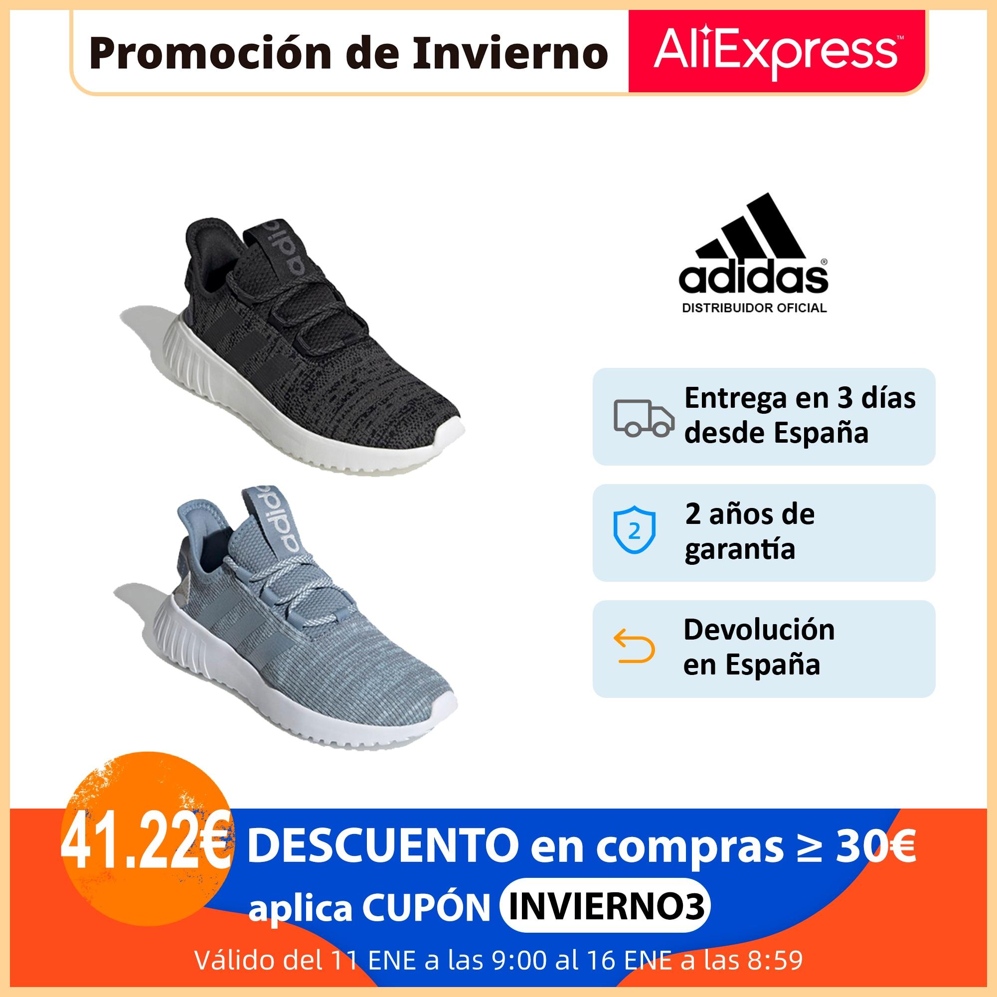 Adidas Kaptir X, Zapatillas Running Unisex, Cierre con Cordones, Parte Superior Texil, Plantilla Cloudfoam Comfort NUEVO|Zapatos vulcanizados de mujer| - AliExpress