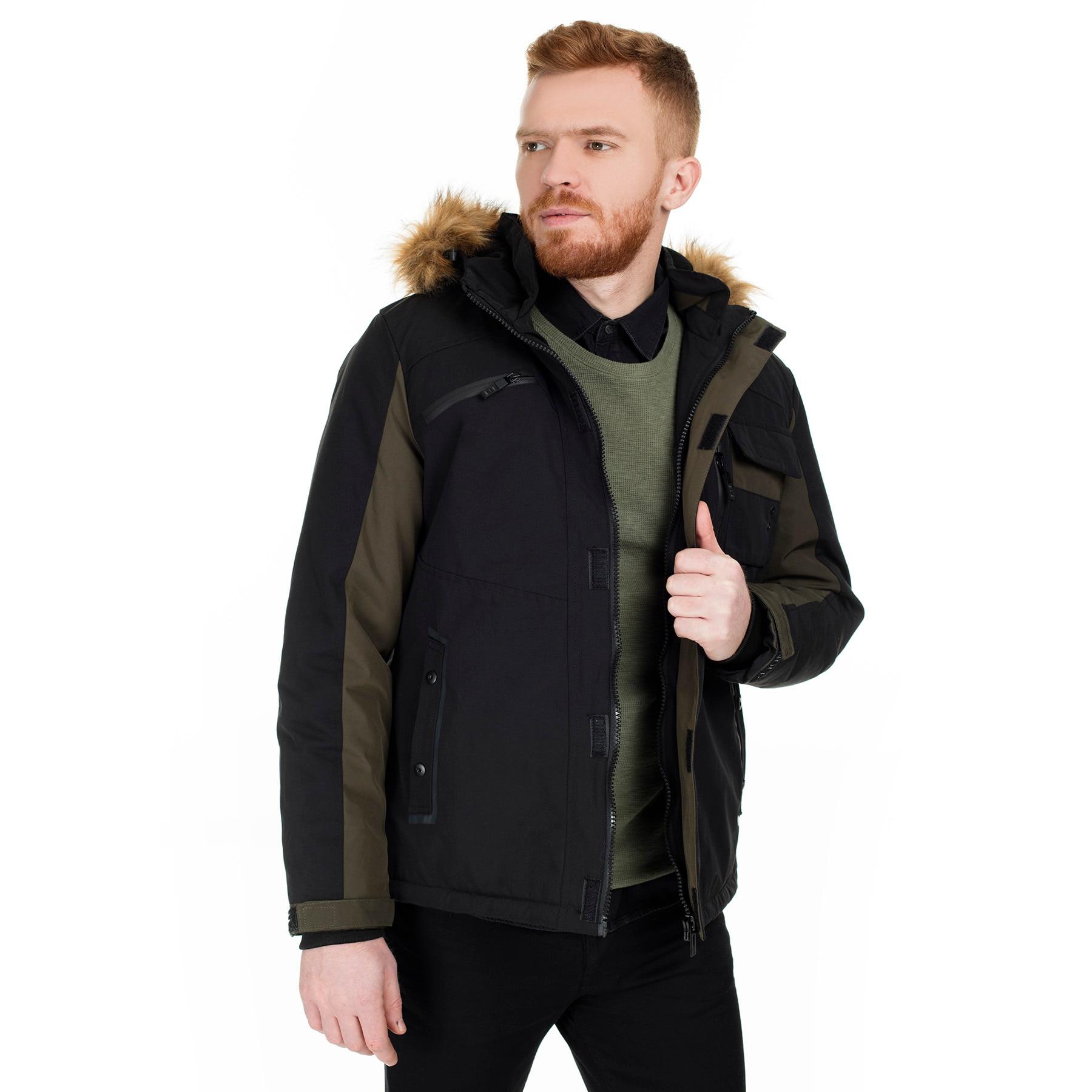 Pique Narrow Cut Hooded Coat MALE COAT 497GARCIA