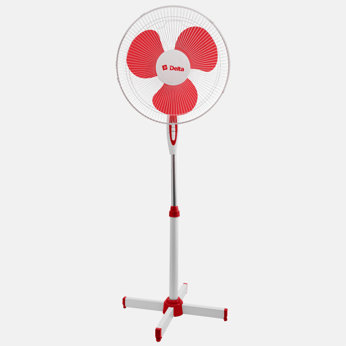Fan Outdoor 35 W, 43 Cm Delta Dl-001n White With Red