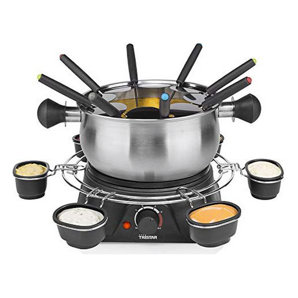 Fondue Deep Fryer Tristar FO1109 1 3 L 1400W Stainless steel|  - title=