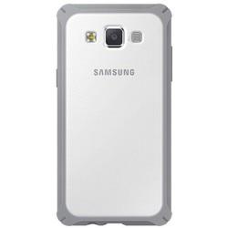 Pokrowiec na telefon Samsung Galaxy A3 przezroczysty szary