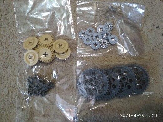 Bricks Technci Gear Parts Worm Rack Classic Accessories Creator MOC Train Car DIY Crane Model Building Blocks Toys for Children photo review