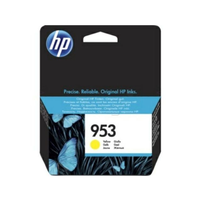 <font><b>HP</b></font> <font><b>953</b></font> Original Yellow Cartridge Ending Cartridge System compatible <font><b>HP</b></font> 8720 <font><b>HP</b></font> 7720 <font><b>HP</b></font> 7740 image