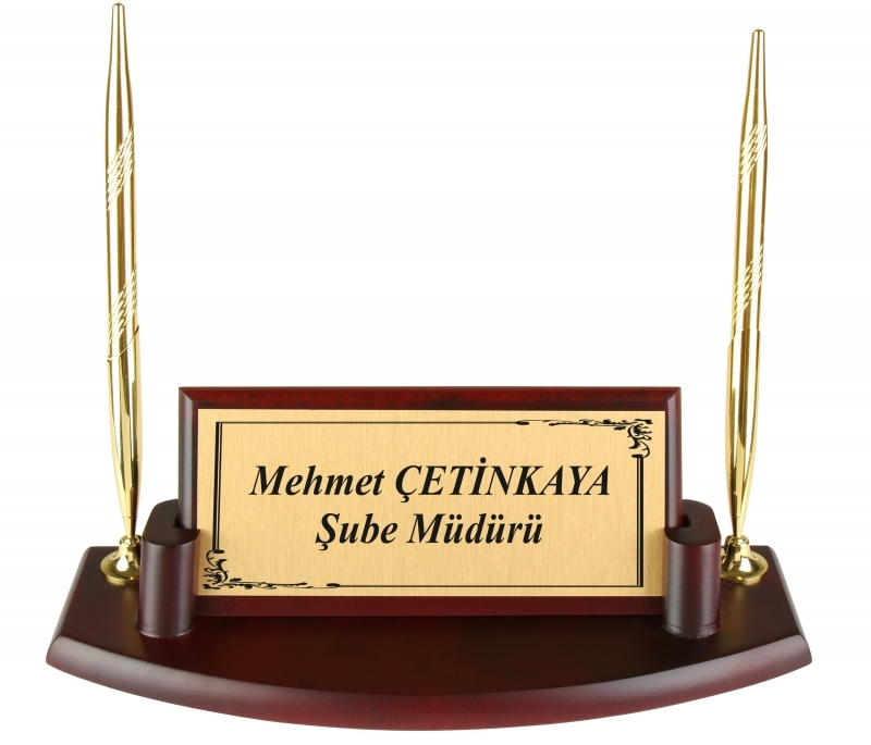 Claret Stand, Nameplate Set, Wood Nameplate, Wooden name plate, Name Tag, Desk Organizer, Office Accessories, Desk Accessories