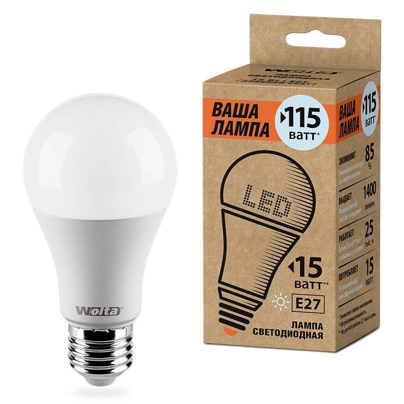 Лампа светодиодная LED A60 WOLTA 25S60BL15E27 P 4000K 25S60BL15E27 P|Светодиодные лампы и трубки| | АлиЭкспресс