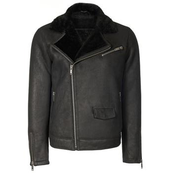 Free shipping Fast Fashion genuine lea ther jacket men black sheepskin biker leather jacket winter men leather jacket gaynor lea greenwood fashion marketing communications