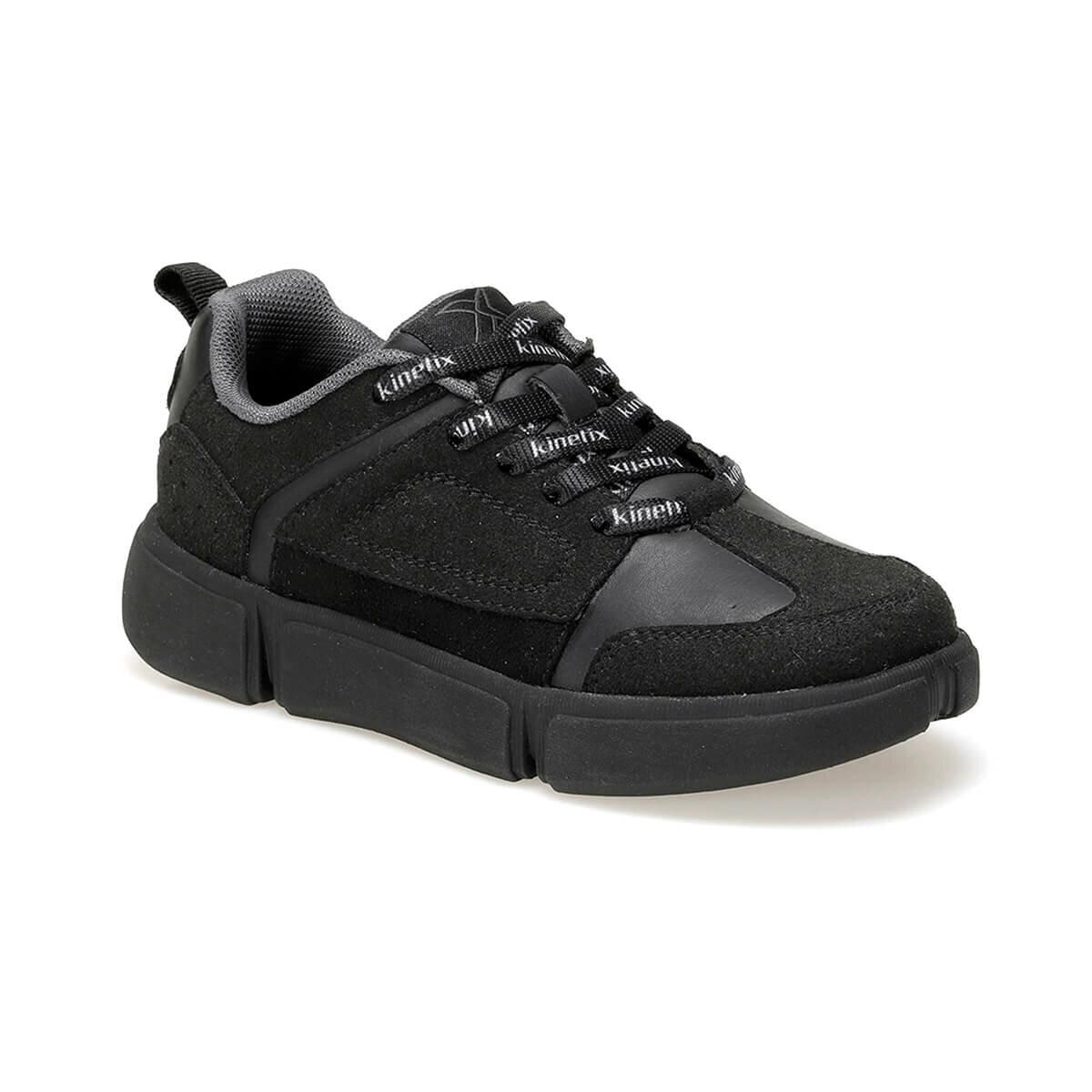 FLO MAJON 9PR Black Male Child Sneaker Shoes KINETIX