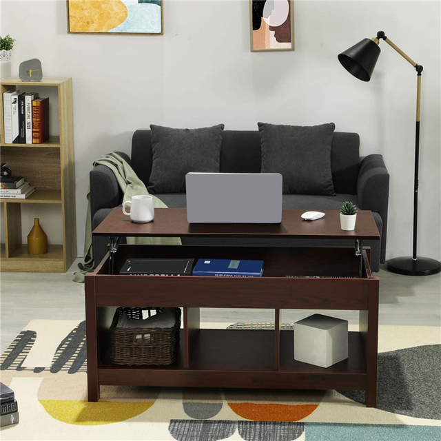 Coffee Table w/ Hidden Storage Compartment  3
