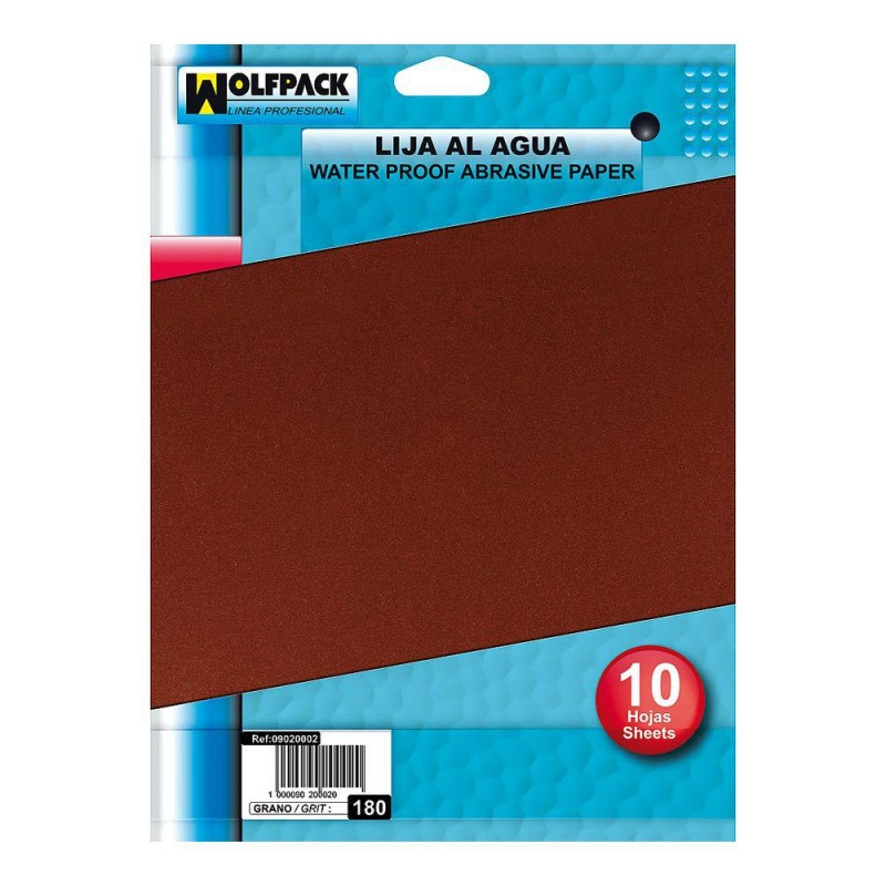 Water Sandpaper 400 Grit (10 Pack Sheets)