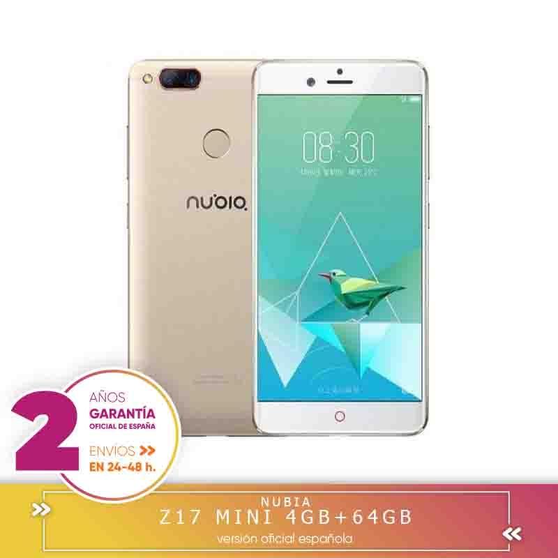 -Carré Garantie-Nubia Z17 Mini 4G balises mobiles Smartphone Qualcomm Snapdragon 652 Octa Core, 5.2