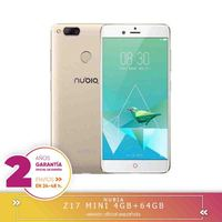 Square Warranty Nubia Z17 Mini 4G mobile tags Smartphone Qualcomm Snapdragon 652 Octa Core, 5.2 FHD 4 hard GB + 64 hard GB