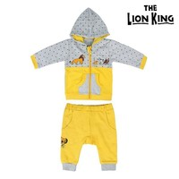 Chándal Infantil The Lion King 74633 Ocre