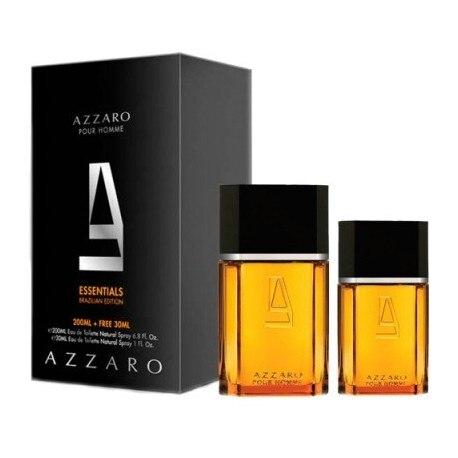 AZZARO HOMME EDT 200ML + 30ML EDT
