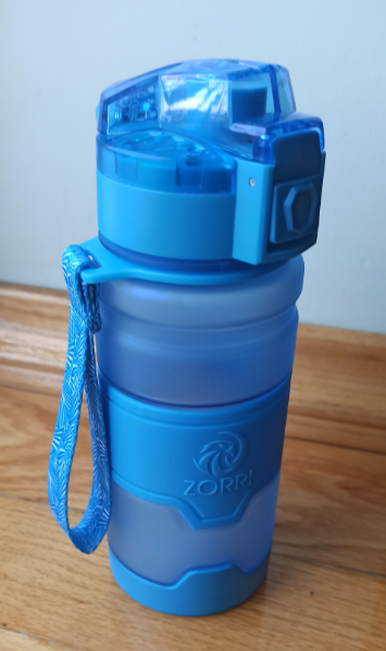 ZORRI Bottle For Water Protein Shaker Portable Motion Sports Water Bottle Bpa Free Plastic For Sports Camping Hiking Gourde|Water Bottles|   - AliExpress