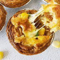 """蛋挞焗饭#美食说出""""新年好""""#的做法图解7"""