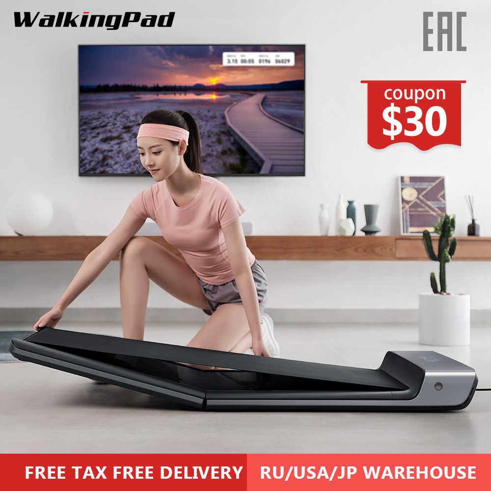 WalkingPad Tread mi ll A1 умная складная электрическая Спортивная прогулочная машина конвейерная лента Бодибилдинг тренировка mi фитнес оборудование