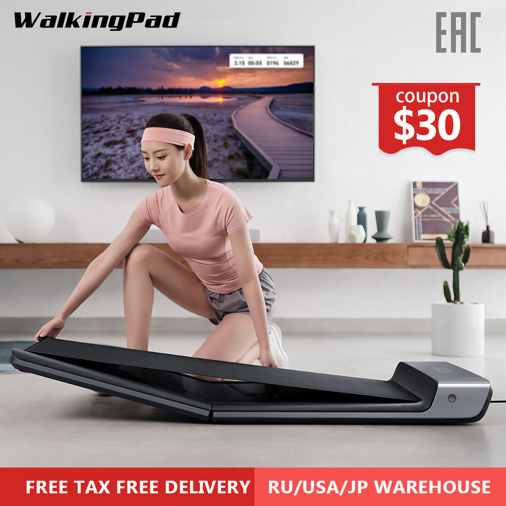 WalkingPad bande de roulement mi ll A1 Smart pliable électrique Sport marche Machine convoyeur ceinture musculation formation mi Fitness équipement