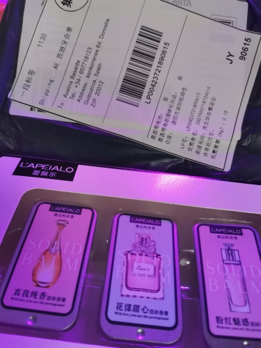 3 PCS Portable Solid Fragrances - Mild Long Lasting Flower Fruit Fragrance with Birthday Gift Box photo review
