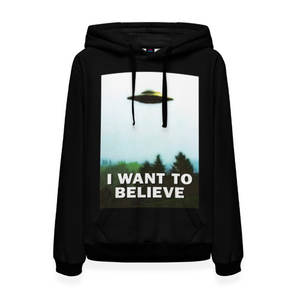 Женская толстовка 3D I Want To Believe