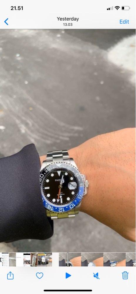 -- Moldura Relógio Negócios