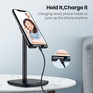 Image 2 - Ugreen Mobile Phone Holder Stand For iPhone X 8 7 6 Plus Desk Tablet Cell Phone Holder Stand Accessories For Xiaomi Phone Holder