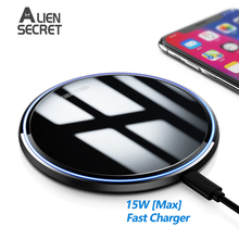 15W Qi Magnetic Wireless Charger for iPhone 12 Mini 11 Pro Max Xs Induction Fast Wireless Charging Pad for Samsung Xiaomi