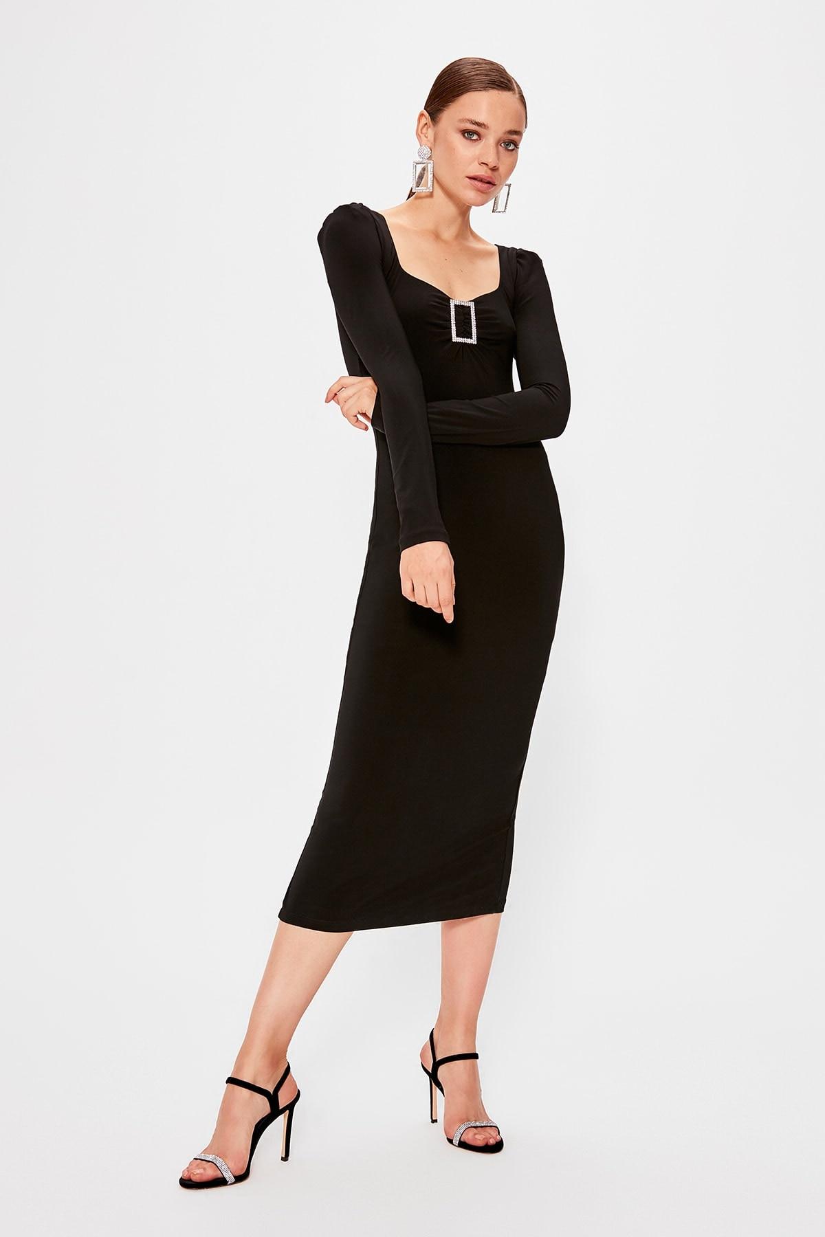 Trendyol Accessory Detailed Dress TPRAW20EL0616