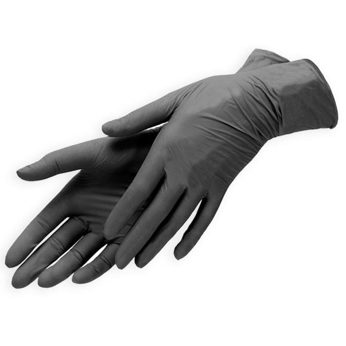 Benovy, guantes de nitrilo, sin polvo, 50 pares - 5