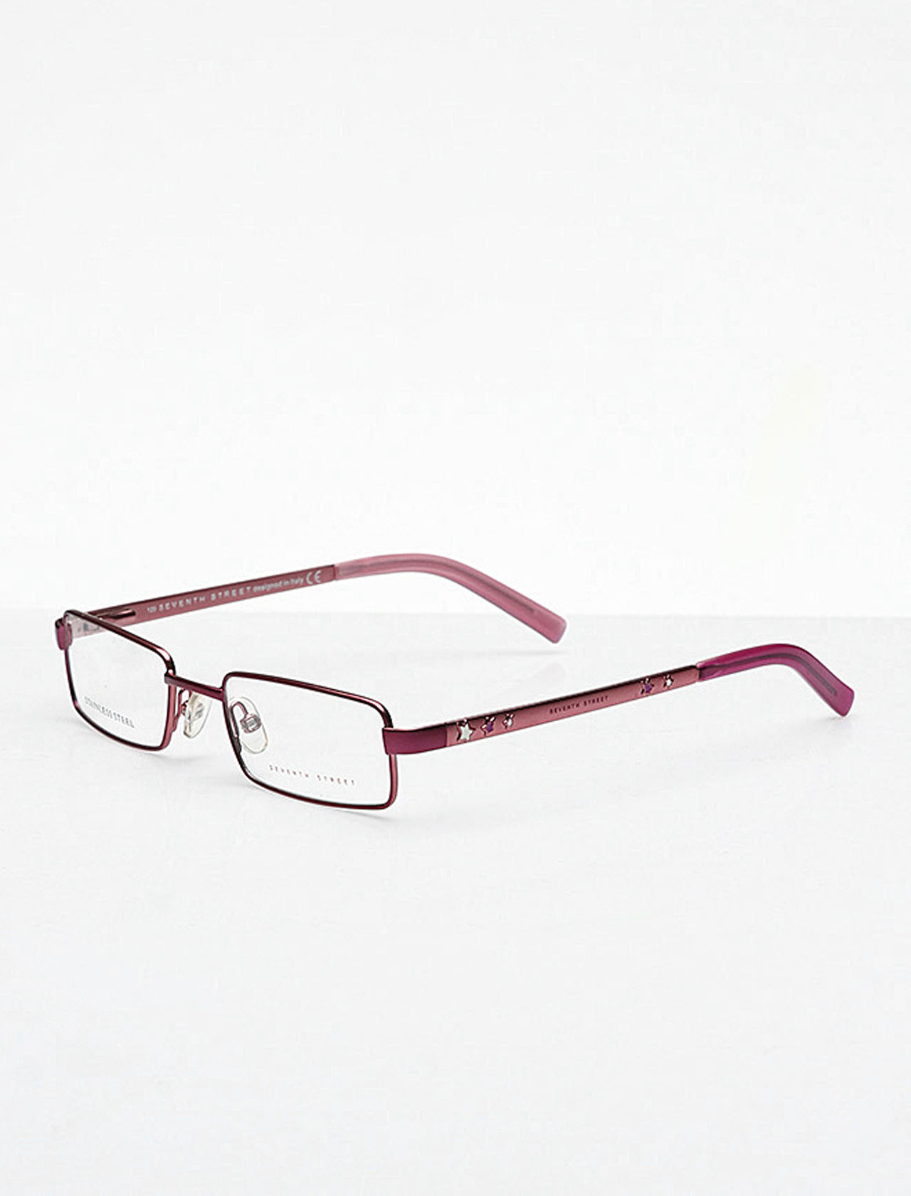 Markamilla Children Reading Glasses Frame Demo Glasses Eyewear Transparent High Quality ChildrenSeventh Street SS 137 MSH