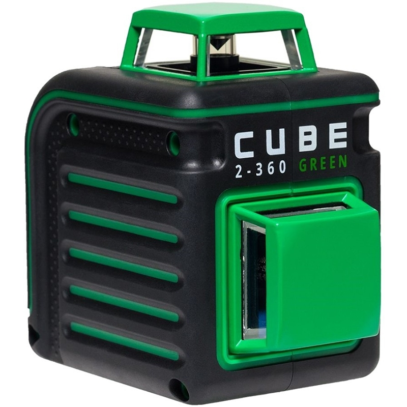 Level laser auto ADA CUBE 2-360 Green Ultimate Edition (tripod, carrying case, 2 line 360 °) cube 360 green ultimate edition