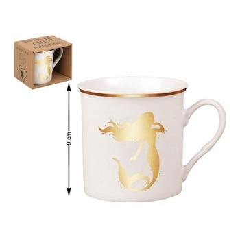 Ceramic Mug Mermaid (310 Ml) mug lefard 360 ml with pattern