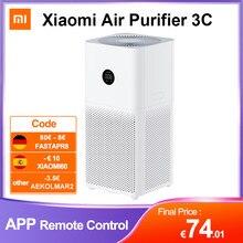 Xiaomi MIJIA – purificateur d'air 3C intelligent, détecteur de fumée, filtre HEPA Portable, stérilisateur, affichage PM 2.5, pour la maison