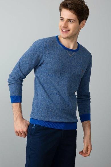 U.S. POLO ASSN. Blue Standard Sweater
