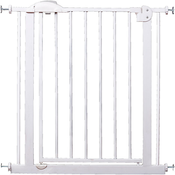 Barrier Gate For Doorway Safe XY-007, 75-85 Cm, White Metal