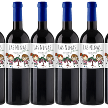 Винно-красное вино и Сира для девочек-temпранильо-винно-кастильский land-6 бутылок x 750 мл