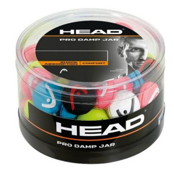Vibration Dampener Head PRO DAMP JAR (70 Pcs) Multicolour
